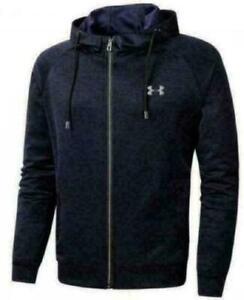 New Under Armour Men's Hoodie Hoody Hooded Sweatshirt Jacket Sports Coat