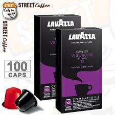 100 Cialde Capsule Caffè Lavazza Compatibili Nespresso Miscela Vigoroso