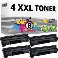 4x Toner für HP LaserJet M201 M201n M202n M202dw M225 M225dn M225dw 83A CF283A