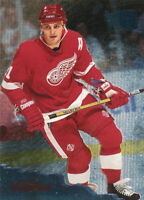 Sergei Fedorov 1995-96 Fleer Metal #45 Detroit Red Wings Hockey Card