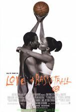 LOVE AND BASKETBALL MOVIE POSTER Original SS 27x40 OMAR EPPS SANAA LATHAN 2000