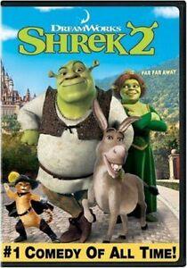 Like New WS DVD Shrek 2 (Widescreen Includes Far Far Away Idol) 2 Disc Set