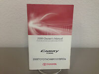 2008 Toyota Camry Hybrid Genuine OEM Owner's Manual in Good Condition-Ships Free