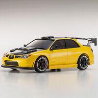 Kyosho A.S.C. Subaru Impreza WRX Aero Kit CFRP Hood Metallic Yellow RC #MZP416MY