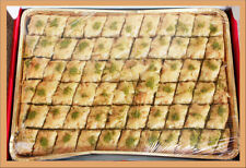 Baklava Pistachio - Full tray Made by Professional Chef in USA - FREE Shipping
