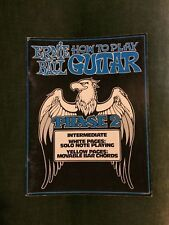 Ernie Ball How to play guitar phase 2 méthode guitare niveau intermédiaire