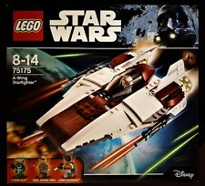 Lego Star Wars 75175 A-Wing Starfighter Rare Discontinued NEW and Sealed