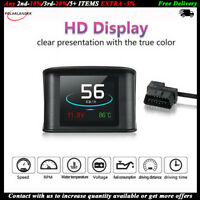 HUD Display  Smart Driving Computer OBD 2  P10 2.2 Inch  Heads Up  Speedometer