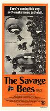 """Australisches daybill-Horrorfilmposter, """"Savage Bees"""" Mörderbienen von 1976"""