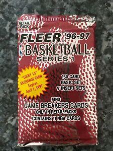 Pack Scellé Nba Fleer 1996-97, Série 1, Kobe Bryant Rookie ?