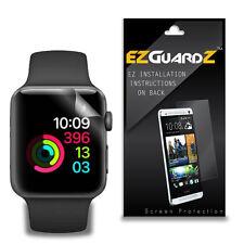 3X EZguardz New Screen Protector Shield HD 3X For Apple Watch 2 42mm