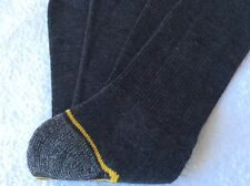MENS M&S HIGH QUALITY REINFORCED  WALKING HIKING WORK BOOT SOCKS CHARCOAL