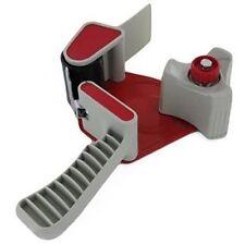 3 Heavy Duty 50-mm mano Dispenser PISTOLE adatta per l'imballaggio pacco Nastro Sellotape Rosso