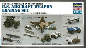 Hasegawa US Aircraft Weapon Loading Set and Crew 1/72 35005  ST
