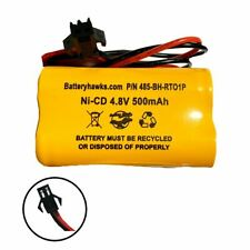 4.8v 500mAh Ni-CD Battery Pack Replacement for Emergency / Exit Light