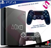 DAYS OF PLAY PS4 1TB 2019 PLAYSTATION 4 EDICION LIMITADA + SEGUNDO MANDO 500M