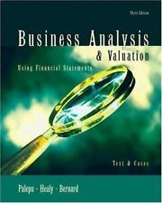 Business Analysis and Valuation: Using Financial Statements, Text Only, Bernard,