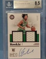 2019-20 PANINI ENCASED CARSEN EDWARDS ROOKIE PATCH AUTO 20/25 BGS 8.5 AUTO 10