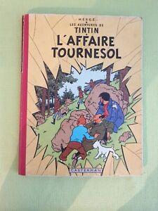 TINTIN - L'affaire Tournesol - Edition Française - 1956