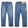 Genuine LEVIS Mens 502 Regular Taper Fit Mid Blue Stretch Denim Jeans LEVI