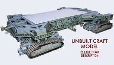 Space Shuttle Era Crawler Transporter 1:72 Model Kit for Mongram w/Tank/Boosters
