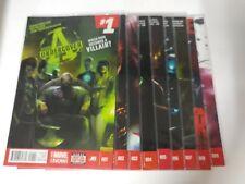 Avengers comic lot Avengers Undercover 1-9 VF/VF+ Bagged