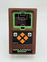 Vintage 1978 Mattel Electronics Soccer Handheld Game Electronic Tested Working