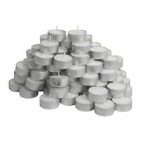 IKEA Glimma Pack Of 50 Tea Lights Candles - 4 Hours Burning Time - 38mm Wide