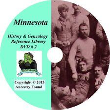 150 old books - MINNESOTA History & Genealogy - Ultimate Library -Ancestors -MI