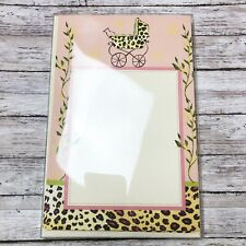Bella Ink Tinky Pinky Leopard Print Baby Shower Printable Invitations 10 ct NEW