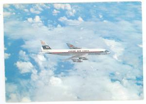 Japan Air Lines DC8 Postcard - Vintage 1960's JAL Douglas DC-8 Airplane Card