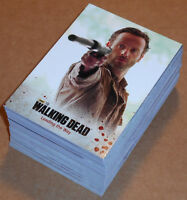 Walking Dead Season 3 Part 1 ~ COMPLETE 72-CARD BASE SET