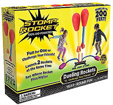 Stomp Rocket 20888 Dueling Rockets - 4 Pieces