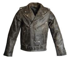 RICANO BRANDO Skórzana kurtka męska w starym brązie, rozmiar 3XL