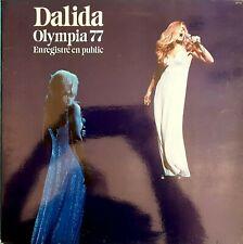 DISQUE 33 TOURS DALIDA OLYMPIA 77