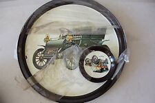 Vintage Car Metal Tray with Coasters 1903 Cadillac New! L#731
