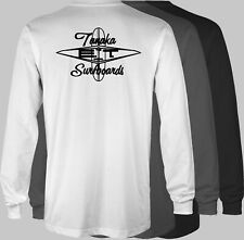 ET Ernie Tanaka Retro LONGSLEEVE T-Shirt surf surfing surfboard hawaii