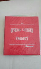 NEW Snap On Snap-on Tools Red 3 Ring Binder New Old Stock