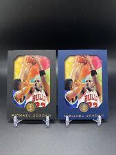 1995-96 Skybox E-XL #10 Michael Jordan Black & Blue Parallel Cards Chicago Bulls
