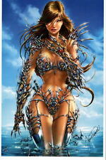 WITCHBLADE Print HAND SIGNED by Jamie Tyndall w COA