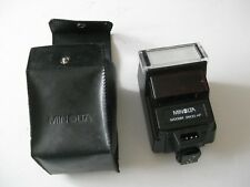 Minolta Maxxum 2800 AF light camera flash in case