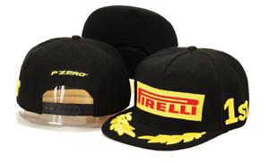 Pirelli Podium Flat Brim Snapback Cap - Formula One - Moto Gp - F1 - P Zero