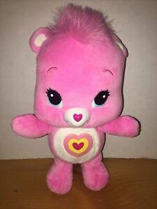 Care Bear Wonderheart Animatronic Singing Talking Walking Pink Plush