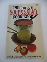 1969 Pillsbury's Soup and Salad Cookbook Quick & Easy Recipes Vintage Pictures