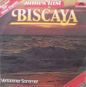 """7"""" 1981 INSTRUMENTAL KULT IN MINT- ! JAMES LAST Biscaya"""