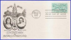 USA5 # 984 U/A SMARTCRAFT FDC Annapolis 300 years