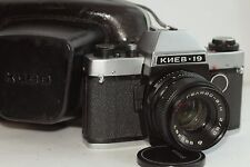 KIEV -19 SLR CAMERA lens MC HELIOS-81H F2/50MM USSR RUSSIAN