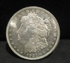 1921 Morgan Silver Dollar - Unc. Spiked Tail!     ENN COINS