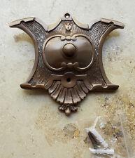 Geschenknet Antik Messing Klingel 1 Klingelschild Klingelplatte  K37A-1