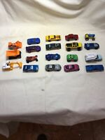 Lot of 19 Matchbox Hot Wheels cars and trucks All From 2000's